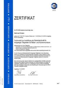 Umzug-Zertifikat-Tüv